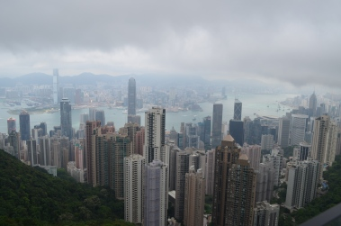 From The Peak - Hong Kong April 2012