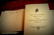 Guest Book & Wedding Program