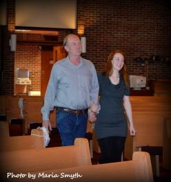 Courtney & her daddy - Wedding Rehearsal
