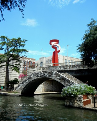 Located on the outskirts of The River Walk. San Antonio, Texas