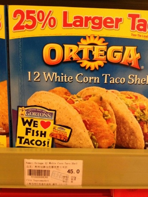 These are only purchased when the girls are craving Taco Bell type tacos, Yuck! For the most part we make our own tortillas. $7.20 a box