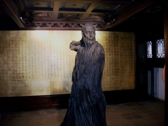 Founder sculpture of the Suzhou Kun Opera House