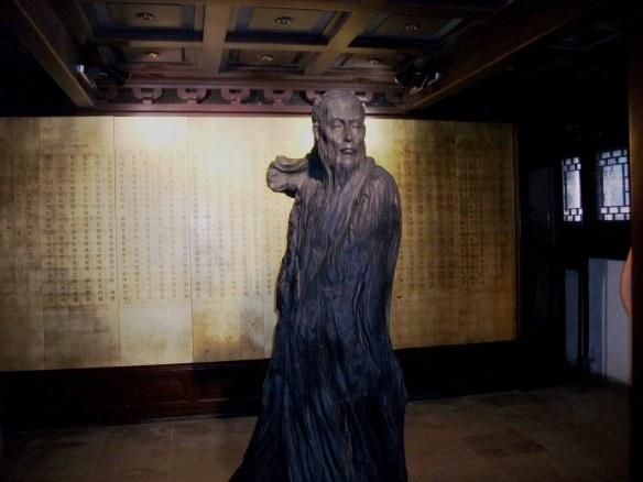 Founder sculpture of the Suzhou Kun Opera House
