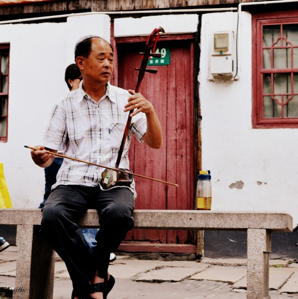 Erhu - A Chinese 2 String Fiddle