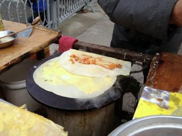 Breakfast burrito -