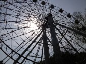 Half way through the day we stopped and enjoyed a ride on this Ferris Wheel.