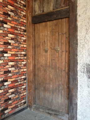 I love these old wooden doors