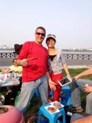 Steve & Jenny, the sauce man!