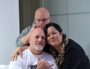 The three amigos...