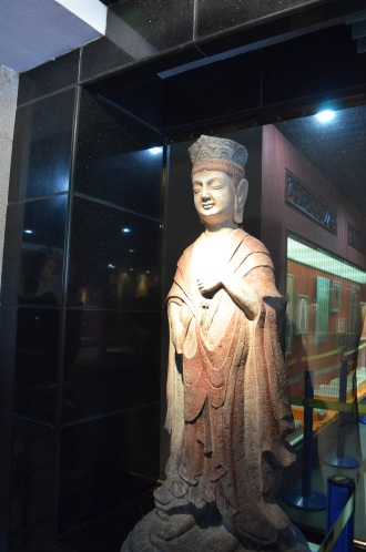 Museum of the Lingshan Grand Buddha near Wuxi.