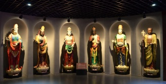 This section can be found in the museum section of the grand buddha in Wuxi.